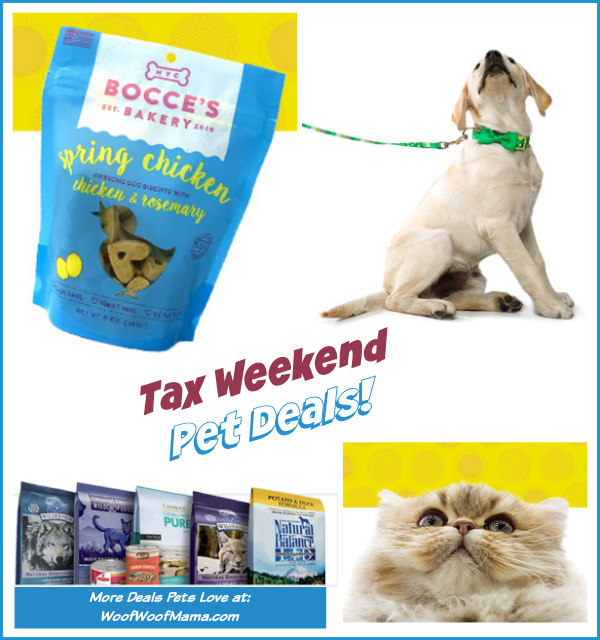 Tax Weekend Pet Deals