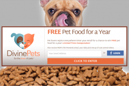 WIN Free Pet Food of Your Choice for a Year!