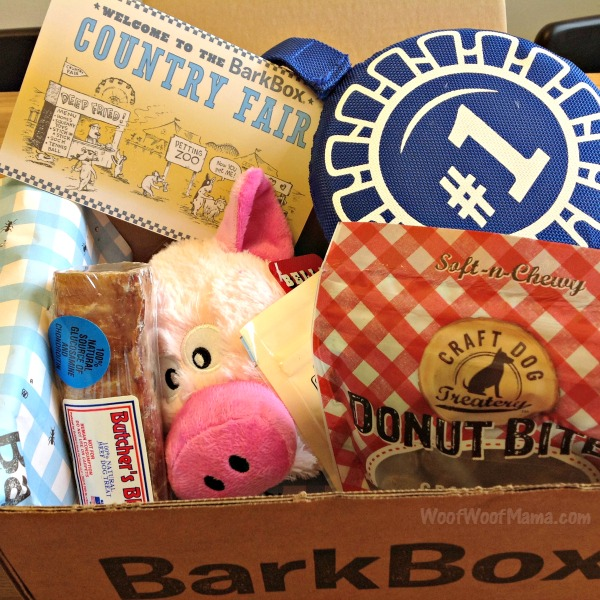 BarkBox Country Fair