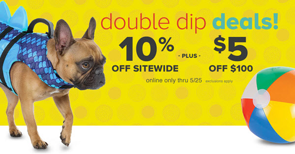 PetSmart Double Dip Deal