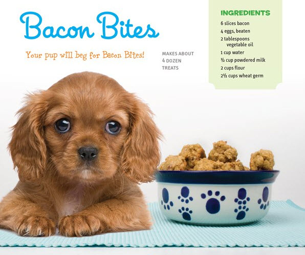 Bacon Bites dog treat recipe