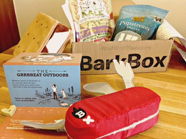 BarkBox June Great Outdoors