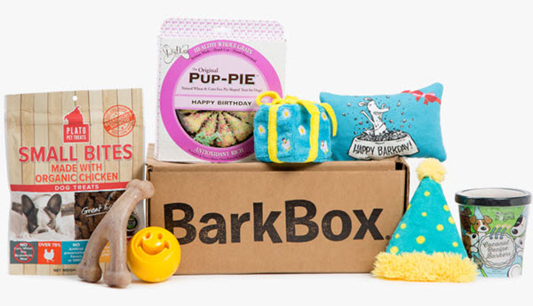 Happy Barkday Special Birthday Gift Box For Dogs Woof