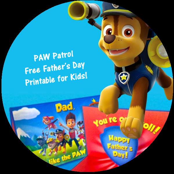 PAW Patrol Fathers Day