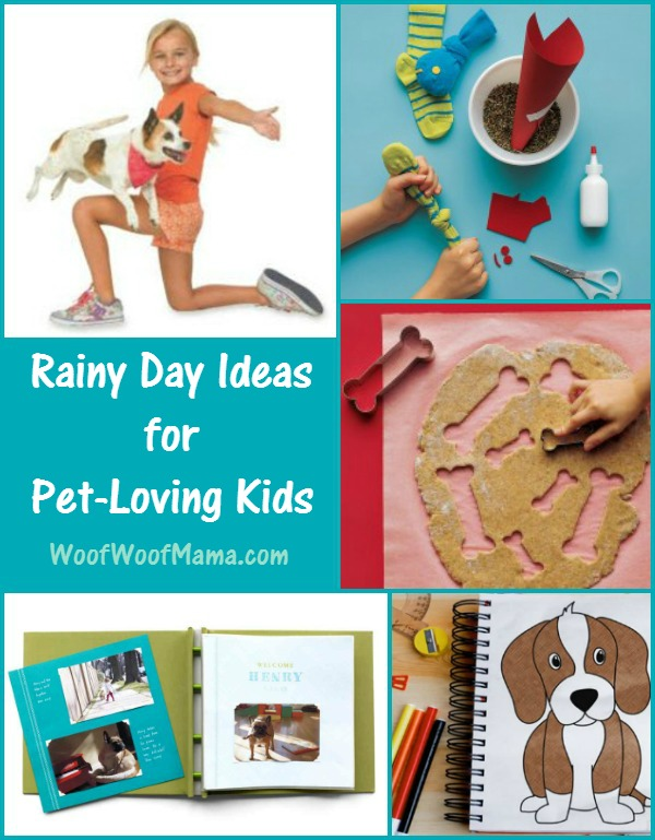 Rainy Day Ideas for Kids with Pets
