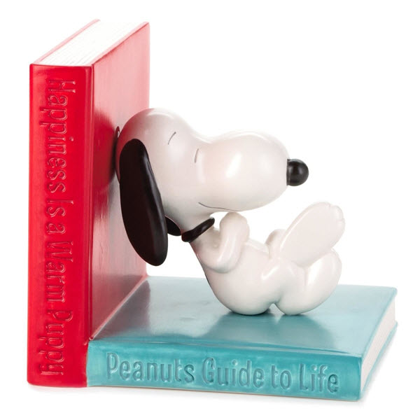 Snoopy bookends