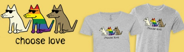 choose love tees