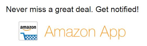 Amazon deals app