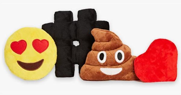 Emoji Dog Toys