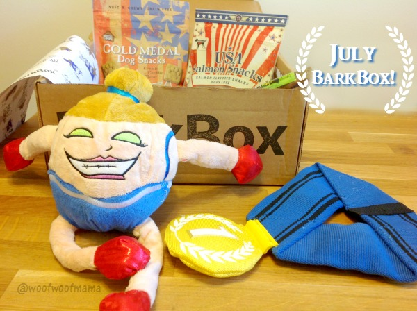 July BarkBox Review