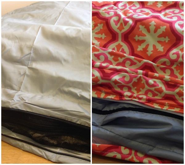 liner and duvet