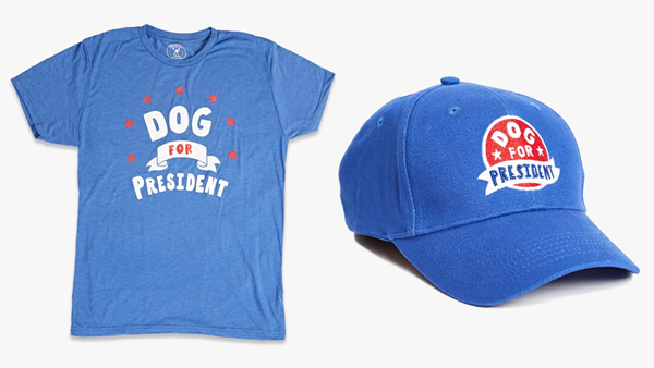 Dog for President Hat and Shirt