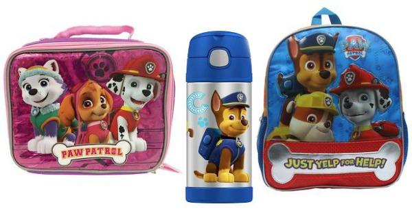 PAW Patrol School Gear