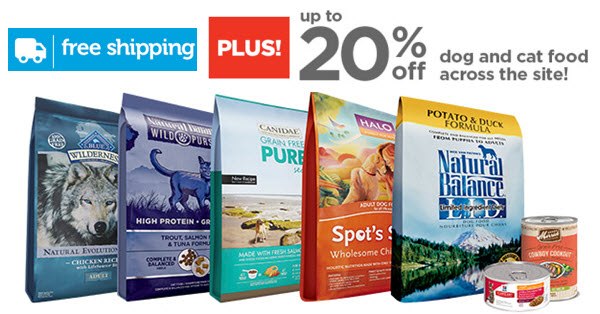 Petco natural pet food sale