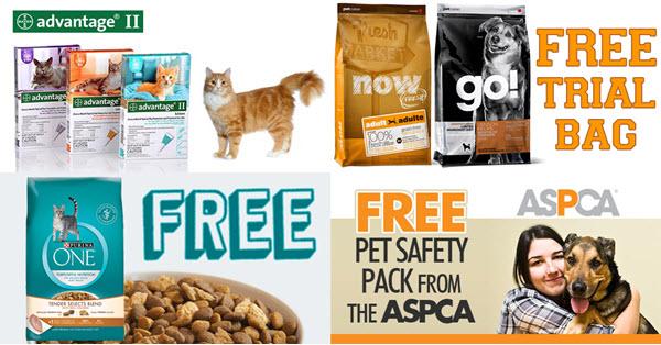 free pet samples