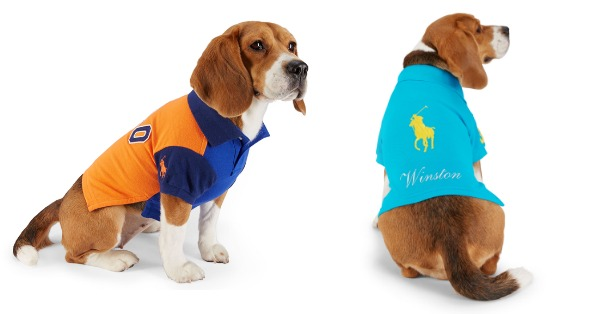 Ralph Lauren Dog Polo Shirts