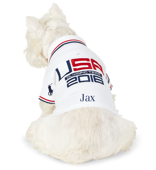 Team USA Polo Dog Shirt
