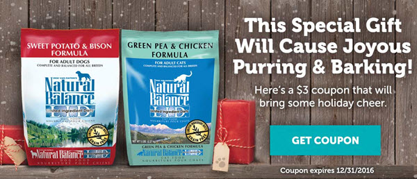 Natural Balance Dog Food Coupons >> Premium Quality Ingredients and Pet Food Safety + Natural ...