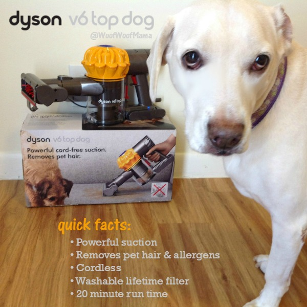 Deal Review Dyson V6 Top Dog Handheld Cordless Vacuum