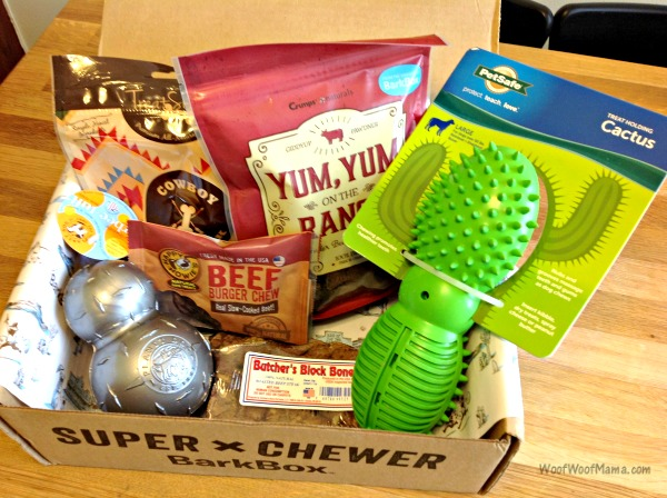 Barkbox Super Chewer Review May 2017 Cowdog Edition Woof