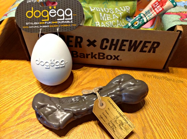 Barkbox Super Chewer Review June 2017 Chewrassic Bark
