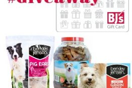 Win a $50 BJ's Wholesale Club Gift Card + Berkley Jensen Dog Treat Prize Pack