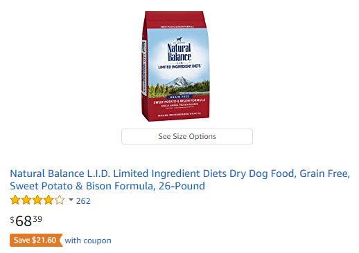 Natural Balance Coupons 21 Off Pet Food And Treats Woof Woof Mama