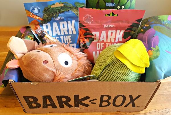 BarkBox Review + Coupon: Secrets of the Rainfurrest