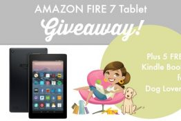 5 FREE Kindle Books About Dogs + WIN an Amazon Fire 7 Tablet