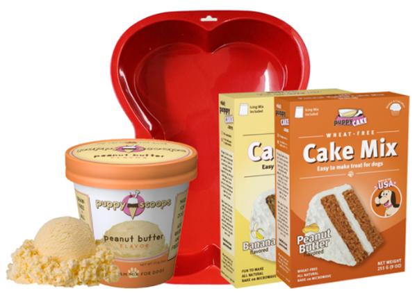 DIY Dog Cake + Ice Cream Party Kit Giveaway