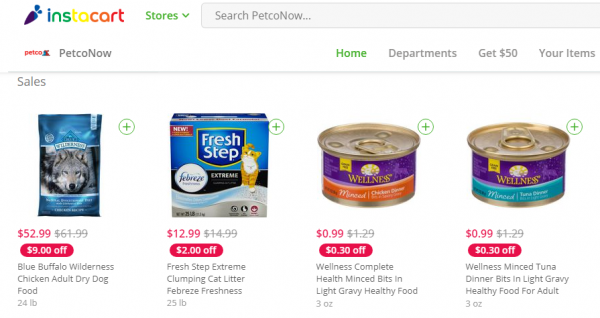 $10 in Free Groceries or Pet Supplies from Petco, Aldi, Costco and