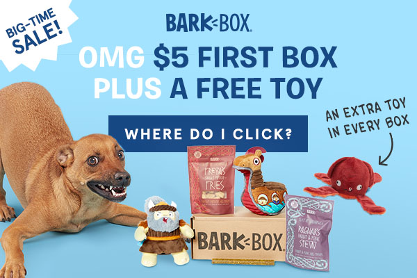 New Deal and BarkBox Coupon
