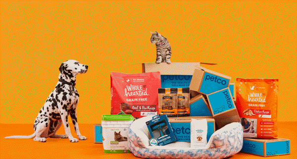 Petco coupon for pet food delivery
