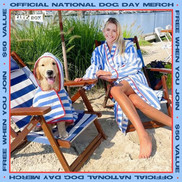 Free matching robes for you and your dog