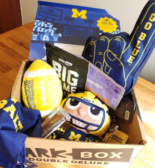 Michigan Football BarkBox Review